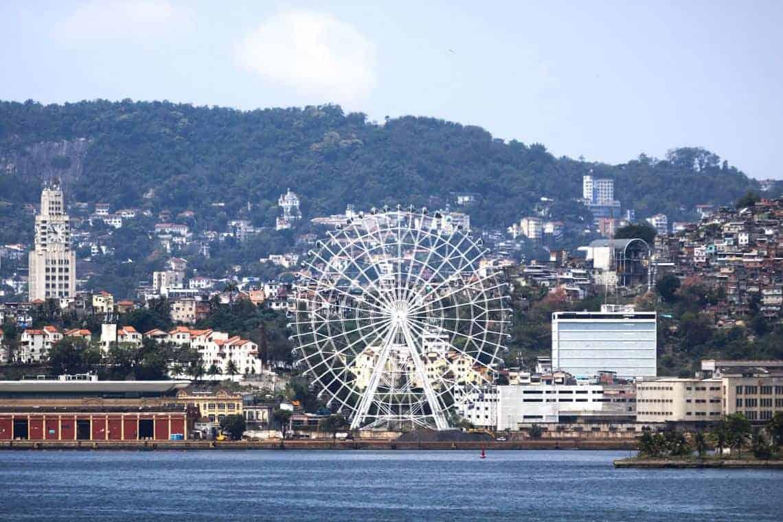 Roda gigante: novo atrativo turístico no Rio de Janeiro